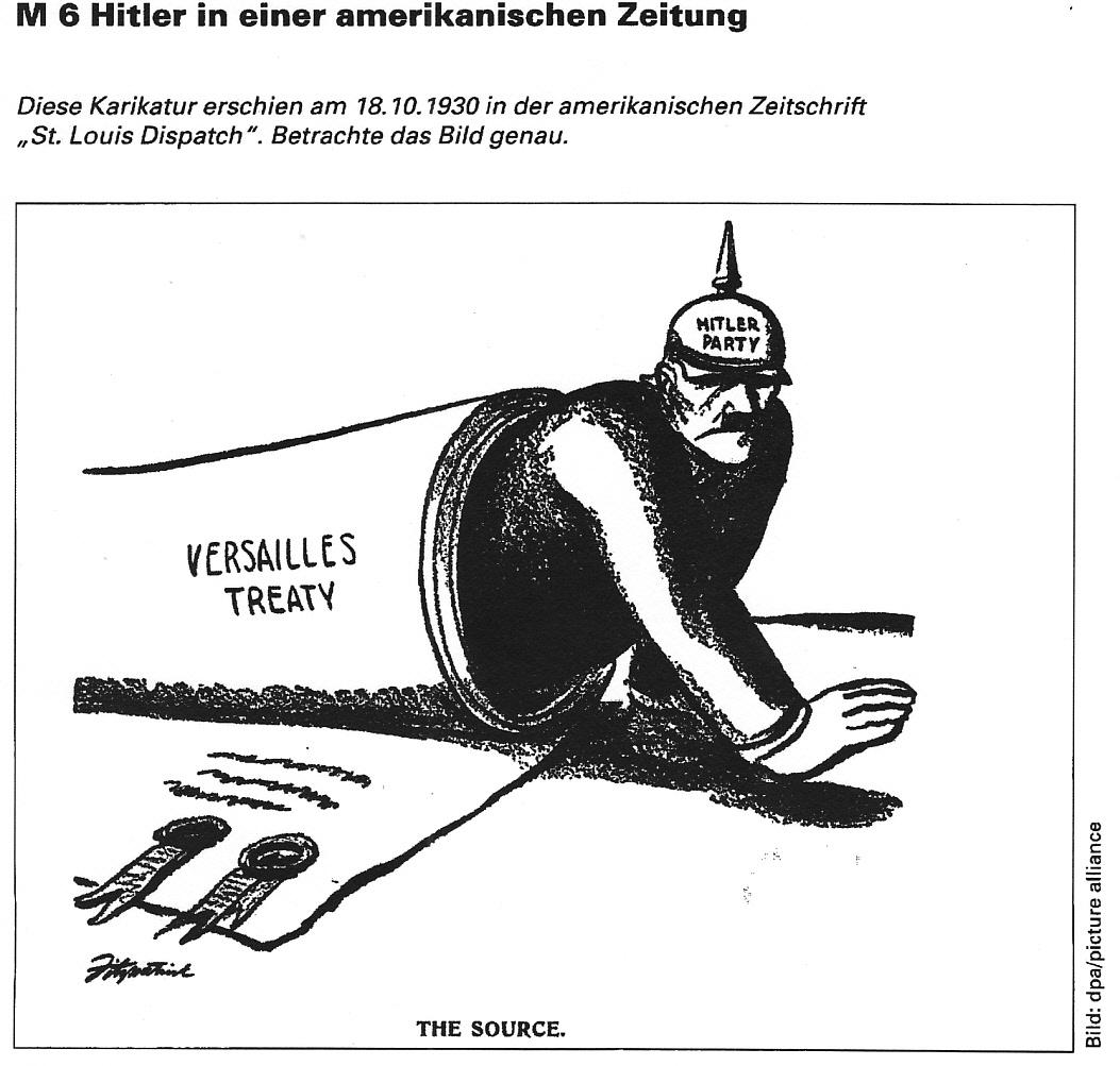 Hilfe Zu Einer Karikatur Aus Der Weimarer Republik Gesucht
